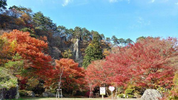 Kimimachizaka Park in autumn.
