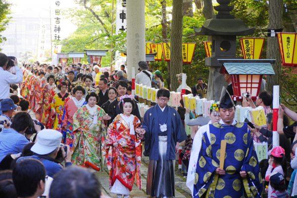 Yomemi Matsuri in Noshiro