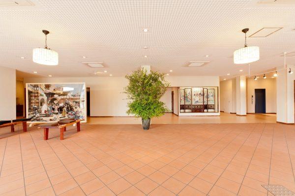 Akita Shirakami Onsen Hotel lobby.