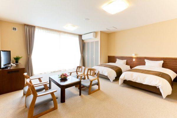Akita Shirakami Onsen Hotel room.