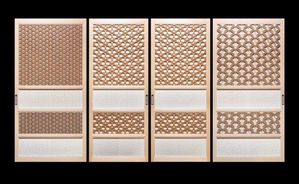 Kumiko designs.