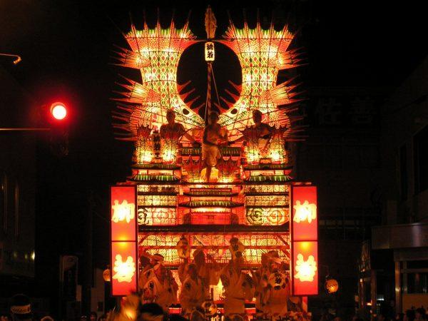 Noshiro Nebunagashi Festival.
