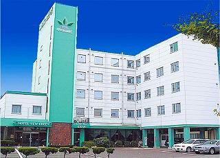 Hotel New Green Noshiro exterior.