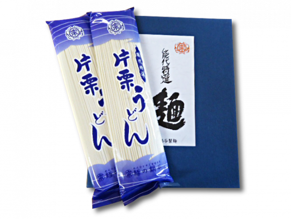 Noshiro udon in package.