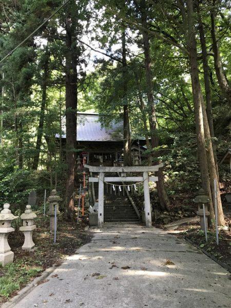Shirataki Shrine in Happo Town.