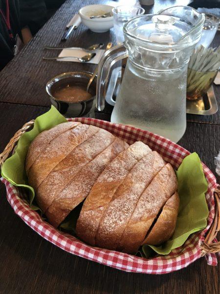 Boschetto bread served at local Shirakami Cafe.
