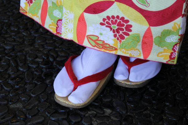 Zori, traditional Japanese sandals.