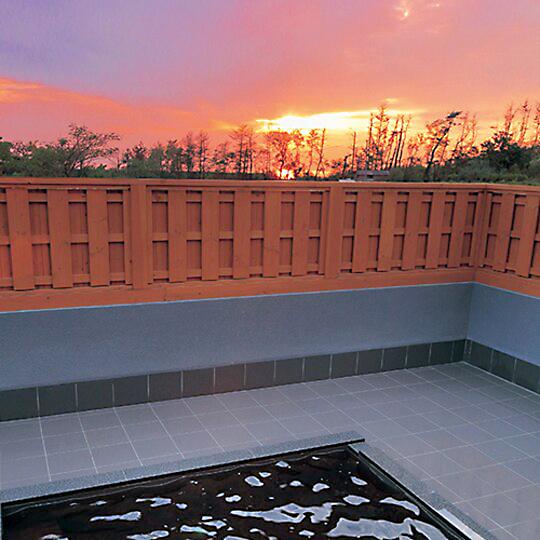 Yumeron outdoor onsen