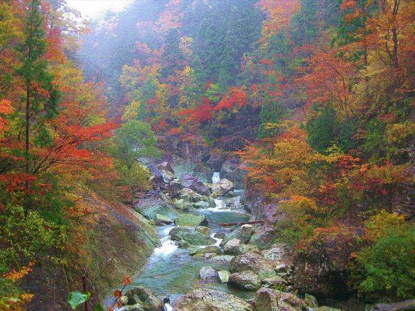Dairakyo Valley