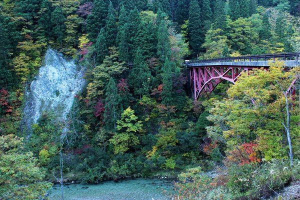 Dairakyo Valley in autumn