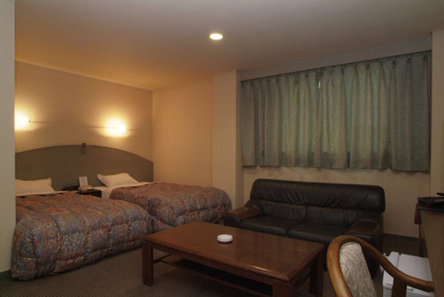 Hotel New Green Noshiro room.