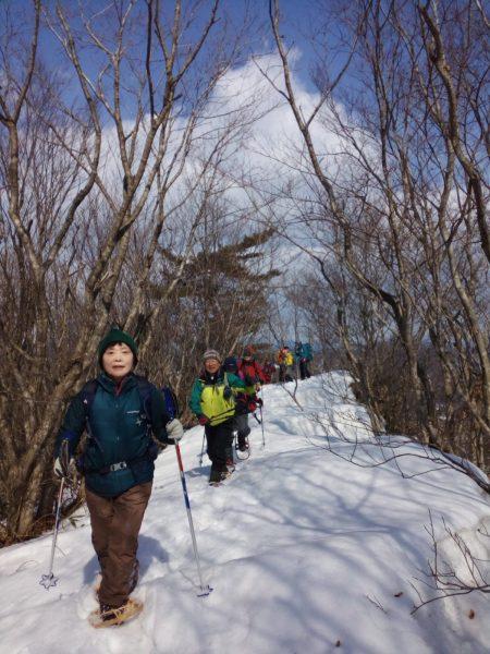 Shirakami snow trekking