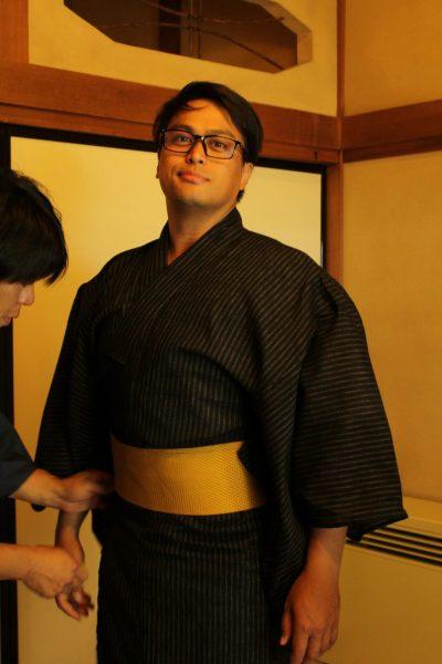 Male kimonos are also available.