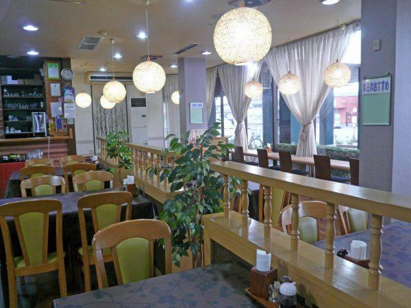 Hotel New Green Noshiro restaurant.