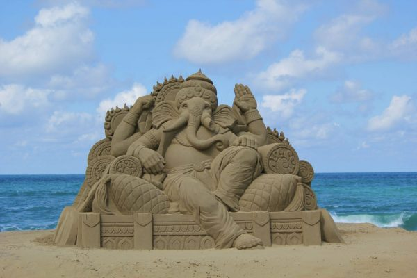 Sandcraft Festival in Mitane.