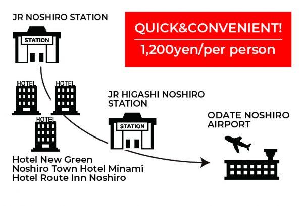 Odate-Noshiro Shared Taxi